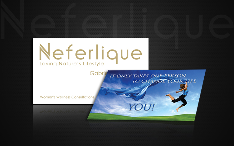 Neferlique Business Cards