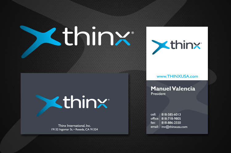 ThinX Logo and Branding Design